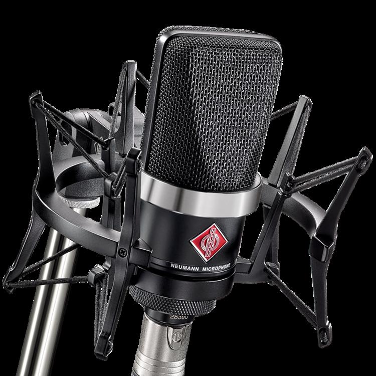 Neumann TLM 102 Mikrofon Studio sett, Svart | Gear4music