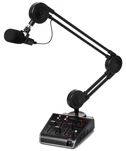 Miktek ProCast SST Lydkort med USB mikrofon og mikser Voss