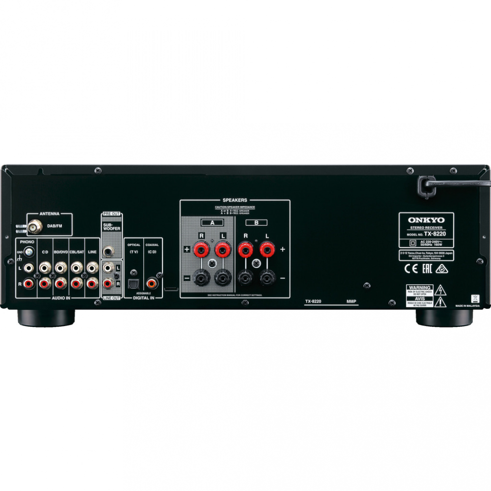 Onkyo TX 8220 Stereo Receiver mBluetooth DAB+ Voss Musikk
