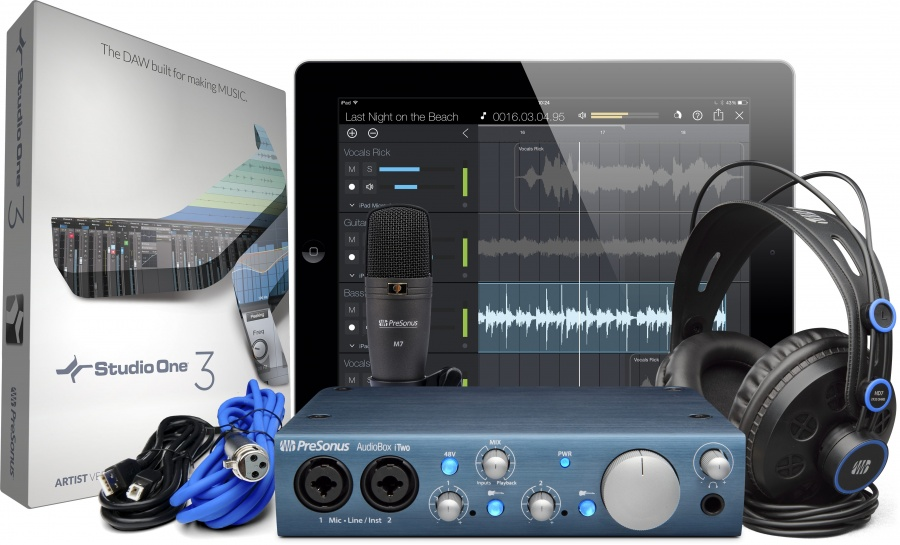 Presonus AudioBox USB 96 Studio Bundle Voss Musikk