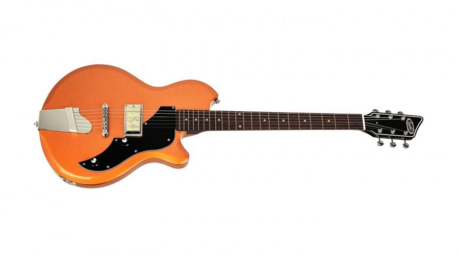 Supro Island Series Jamesport El.Gitar Bronze Metallic