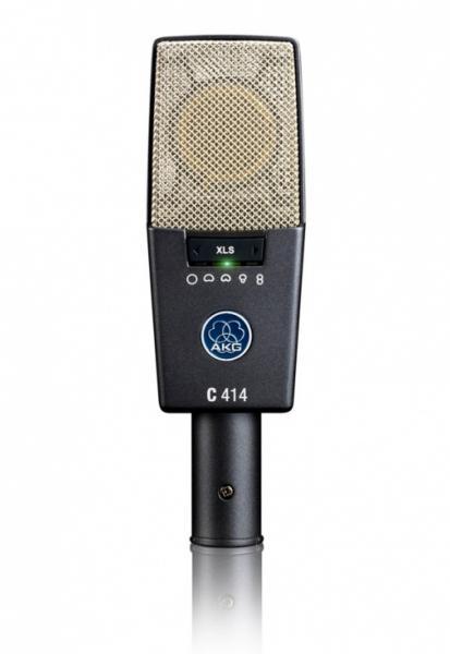 AKG C414 XLS Mikrofon Stormembran Kondensator Voss Musikk