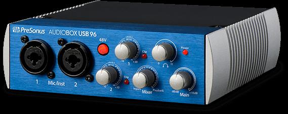 Presonus AudioBox USB 96 Studio Bundle Voss Musikk